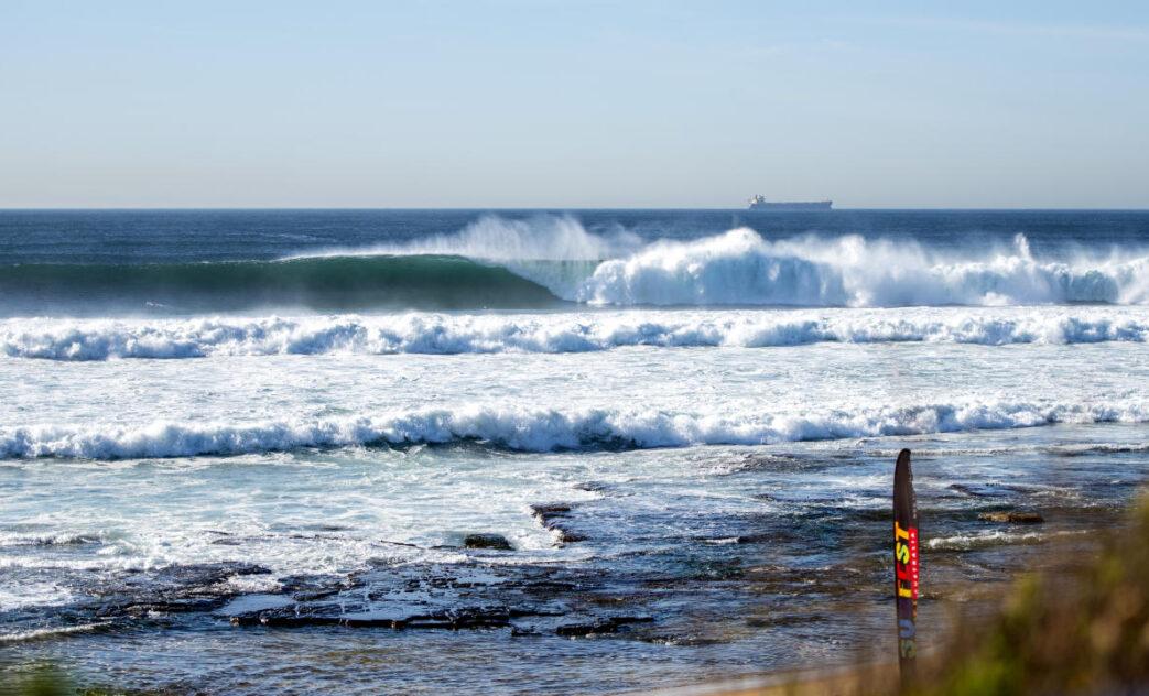 Merewether Beach, Newcastle, Austrália. Foto: WSL / Thomas Bennet