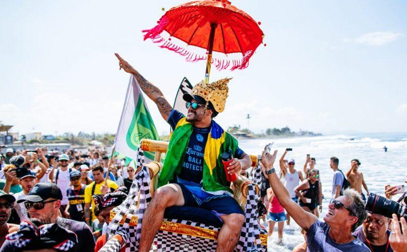 Italo Ferreira, Corona Bali Protected 2018, Keramas, Indonésia. Foto: WSL