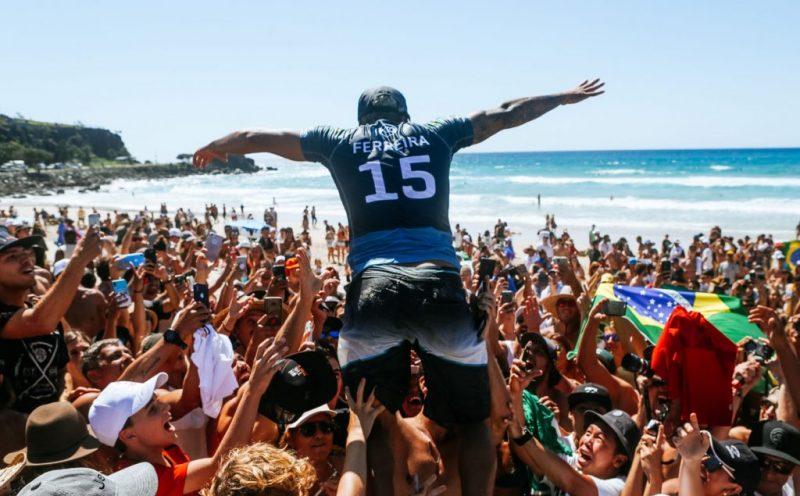 Italo Ferreira, Quiksilver Pro Gold Coast 2019, Duranbah, Austrália. Foto: WSL