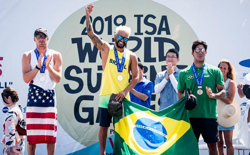 Italo Ferreira, ISA World Surfing Games 2019, Miyazaki, Japão. Foto: ISA