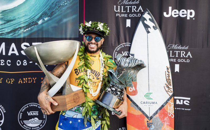 Italo Ferreira, Billabong Pipe Masters 2019, Pipeline, Havaí. Foto: WSL
