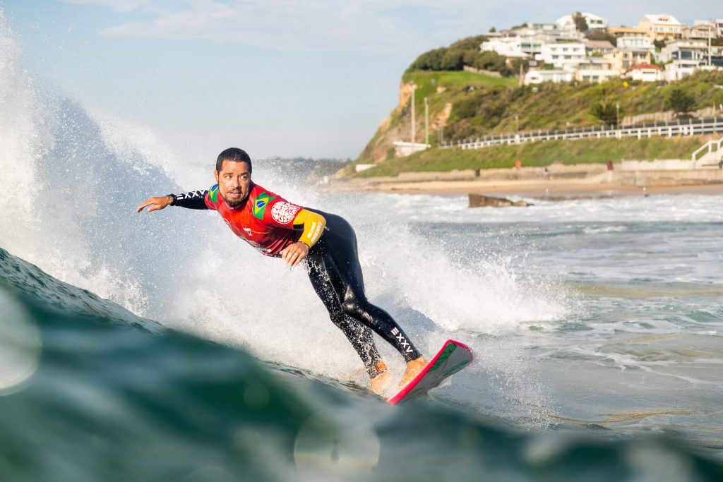 Adriano de Souza, Rip Curl Newcastle Cup 2021, Merewether Beach, Austrália. Foto: WSL / Dunbar