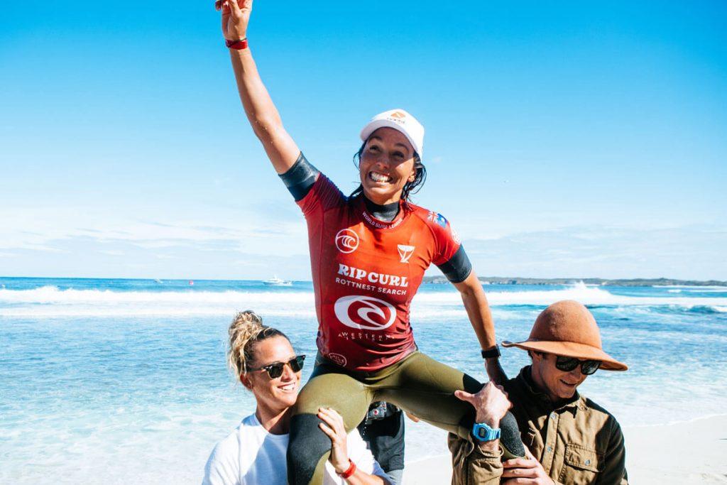 Sally Fitzgibbons, Rip Curl Rottnest Search 2021, Strickland Bay, Rottnest Island, Western Australia, Austrália, Swell, WA, West Oz. Foto: WSL / Miers