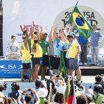 Equipe brasileira, Team Brazil, ISA World Surfing Games 2019, Miyazaki, Japão. Foto: ISA / Reed