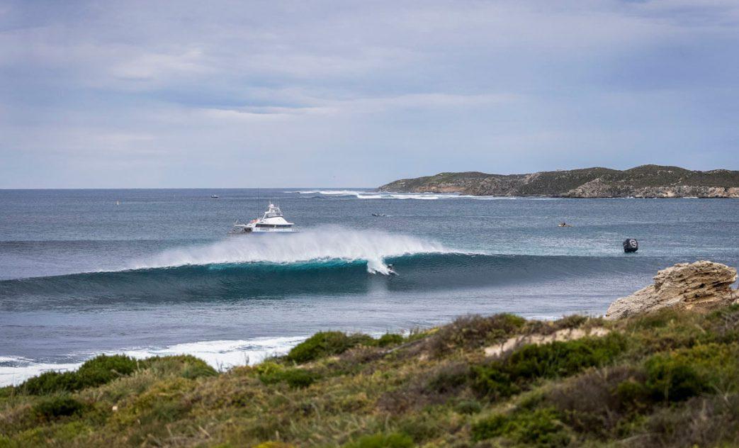 Michel Bourez, Rip Curl Rottnest Search 2021, Strickland Bay, Rottnest Island, Western Australia, Austrália, Swell, WA, West Oz. Foto: WSL / Dunbar