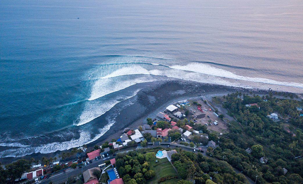 El Sunzal, El Tunco, El Salvador. Foto: Divulgação ISA / Surf City