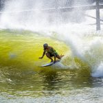 Italo Ferreira, Piscina de ondas do Surf Ranch, Lemoore, Califórnia (EUA). Foto: WSL / Cestari