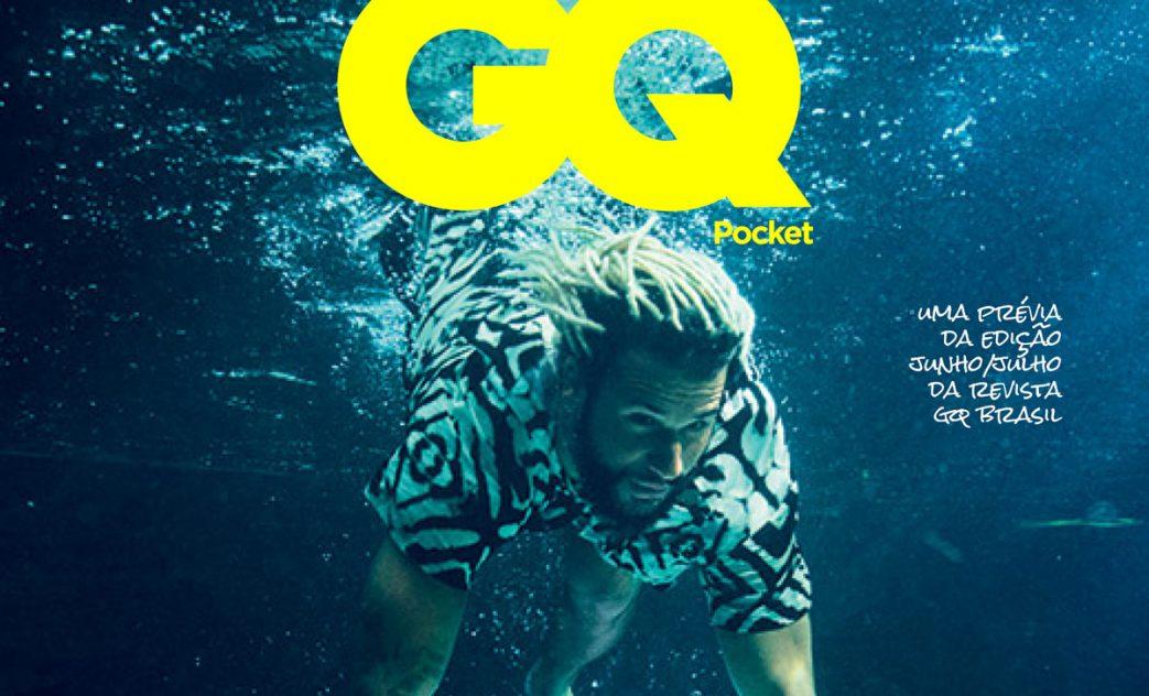 Edição dupla junho/julho da GQ Brasil traz Italo Ferreira em uma das opções de capa.