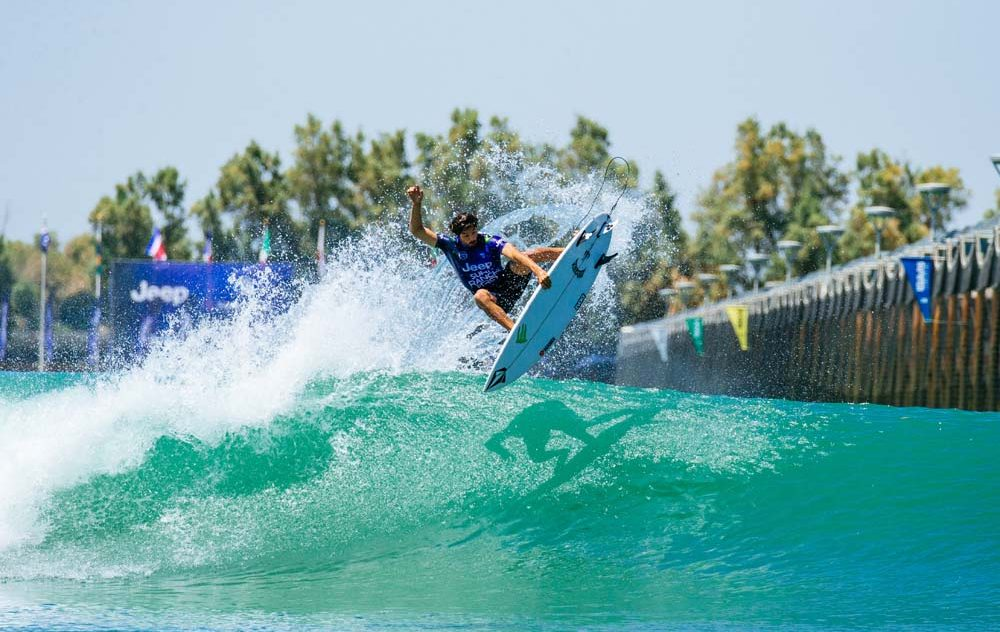 Yago Dora, Surf Ranch Pro 2021, Lemoore, Califórnia (EUA), World Surf League, Circuito Mundial de Surf 2021, Kelly Slater Wave Pool. Foto: WSL / Van Kirk