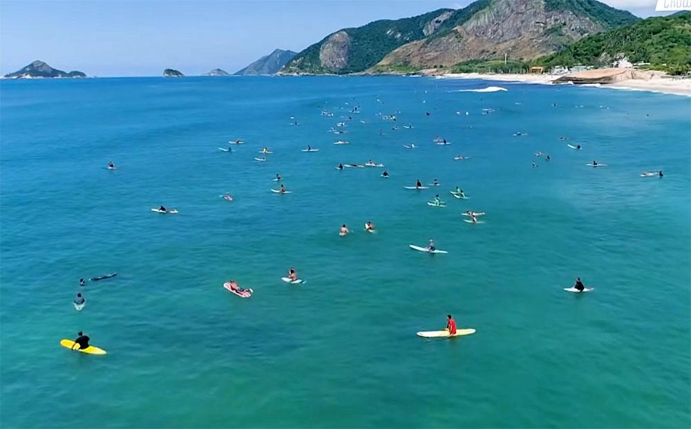 Crowd Selvagem, Canal OFF, Rio de Janeiro (RJ), Crowd no Surf. Foto: Reprodução