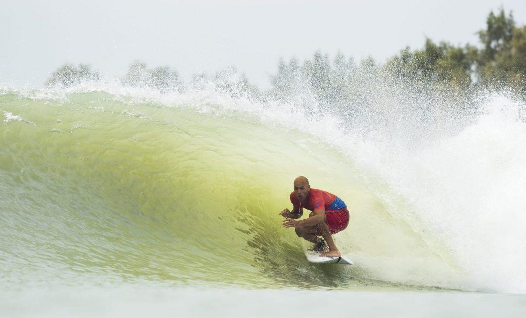 Kelly Slater, Piscina de ondas do Surf Ranch, Lemoore, Califórnia (EUA). Foto: WSL