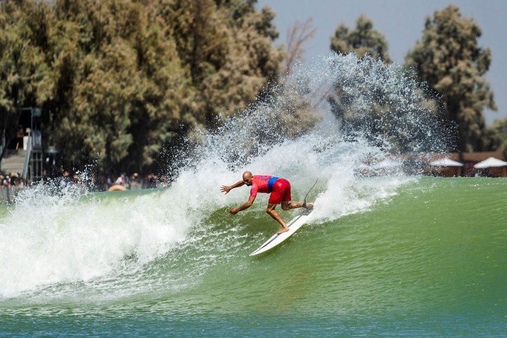 Kelly Slater, Piscina de ondas do Surf Ranch, Lemoore, Califórnia (EUA). Foto: WSL / Cestari