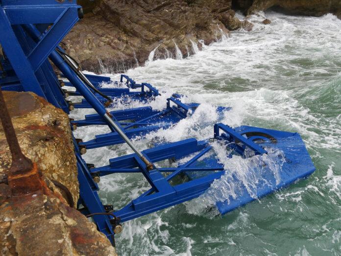 Governo do Ceará analisa gerar energia limpa a partir das ondas do mar. Foto: Eco Wave Power