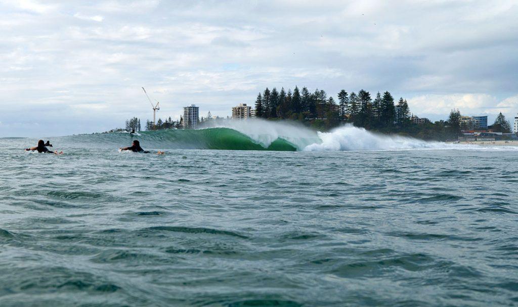 Kirra, Gold Coast, Queensland, Austrália. Foto: Lucas Palma / @skids.com.br