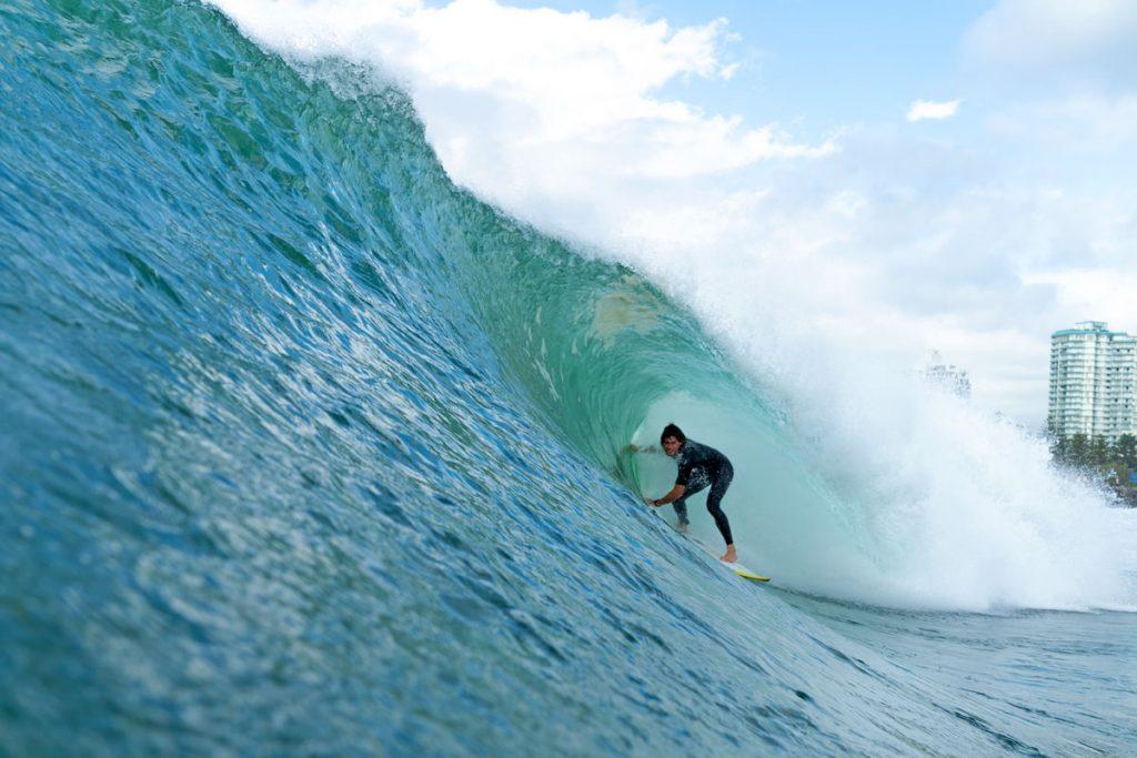 Cooper Chapman, Kirra, Gold Coast, Queensland, Austrália. Foto: Lucas Palma / @skids.com.br