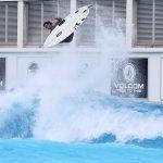 Evan Geiselman, Makinohara Shizunami, Japão, piscina de ondas, surfing pool, American Wave Machines, Surf Stadium. Foto: Divulgação