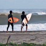 Free surf em Tsurigasaki Beach, Shidashita, Chiba, Japão, Canal Off. Foto: Reprodução