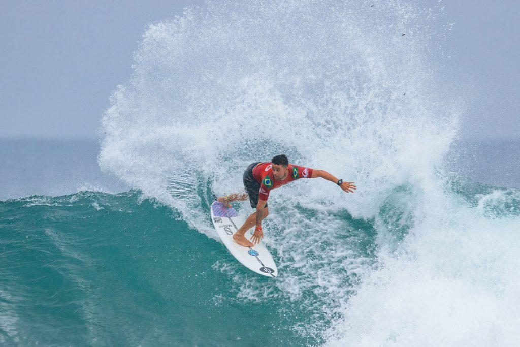 Deivid Silva, Corona Open Mexico, Barra de La Cruz, Oaxaca, México, Surf, WSL, World Surf League, Circuito Mundial de Surf, ao vivo. Foto: WSL / Heff