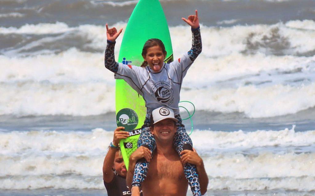 Carol Bastides SPSurf Treino SV, Praia de Itararé, São Vicente (SP). Foto: Juliana Teixeira