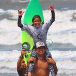 Carol Bastides, SPSurf Treino SV, Praia de Itararé, São Vicente (SP). Foto: @fotosurfboard