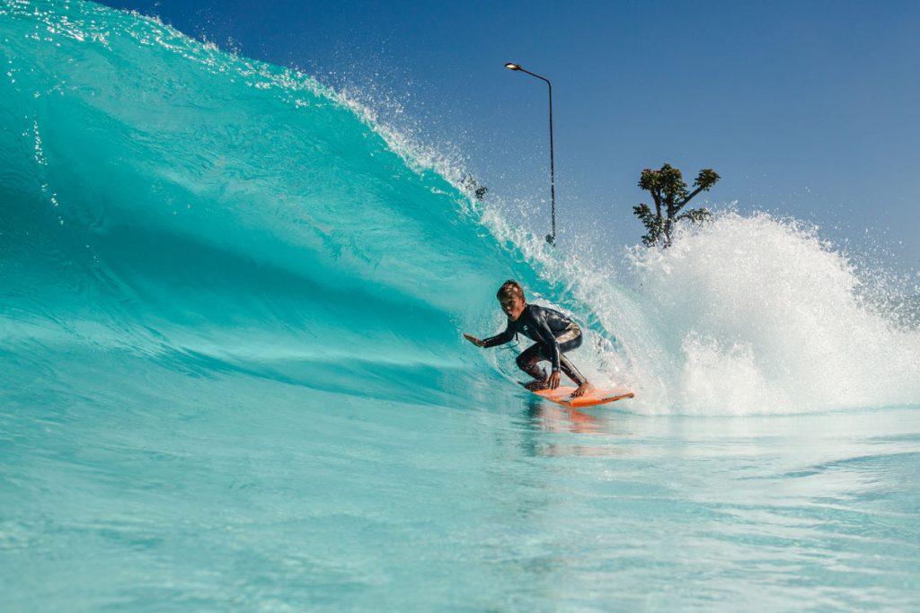 Arthur Vilar disputa o Rip Curl Grom Search na Praia da Grama. Foto: Wavegarden