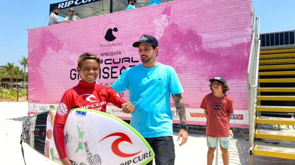Pablo Gabriel foi o campeão da categoria Sub 12. Foto: Aleko Stergiou